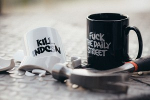 The Daily Street x indcsn mugs