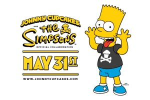 The Simpsons x Johnny Cupcakes Announcement