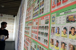 See every Panini World Cup football sticker ever made