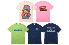 Supreme Summer 2014 graphic T-Shirts