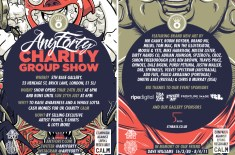 AnyForty Charity Group Show Supporting CALM