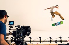 Behind the scenes at the Nike SB 'Fit To Move' lookbook shoot in New York