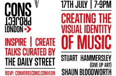 CONS Project Inspire|Create talk: Creating the visual identity of music