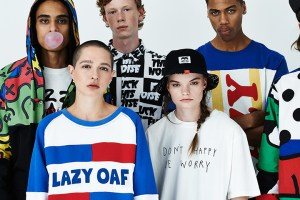Lazy Oaf men's Autumn 2014 lookbook