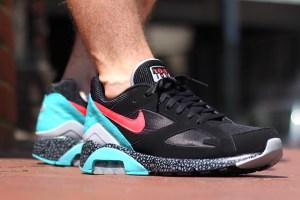 Nike Air Max 180 (Black/Laser Crimson)