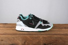 Le Coq Sportif R1000 (Black & Off-White)