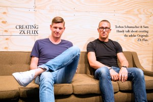 Interview: Torben Schumacher & Sam Handy on creating the adidas Originals ZX Flux