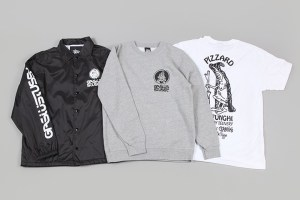 Gasius x Stüssy pizza capsule collection