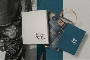 Nudie Jeans Grim Tim Stone Mason Replica