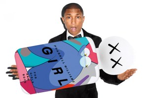 "Pharrell Williams x COMME des GARÇONS Parfum ""G I R L"" perfume"