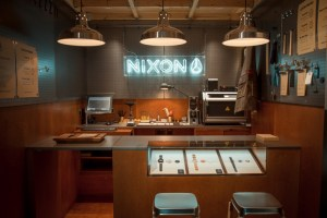 Take a look inside the new Nixon Carnaby store