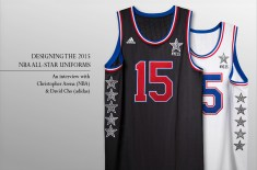 Interview: Christopher Arena (NBA) & David Cho (adidas) on designing the 2015 NBA All-Star uniforms