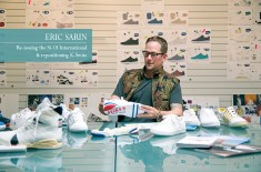 Interview: Eric Sarin of K-Swiss talks about re-issuing the Si-18 International and how he plans to reposition a classic brand