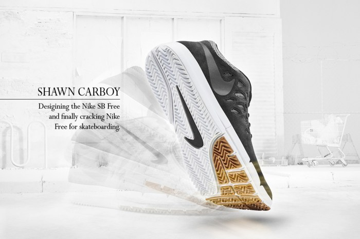 Interview: Shawn Carboy talks about designing the Nike SB Free