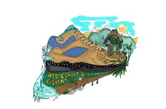 Nike ACG Air Escape illustration by Rebel Yüth