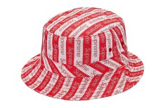 Supreme Jacquard Logo Crusher bucket hat