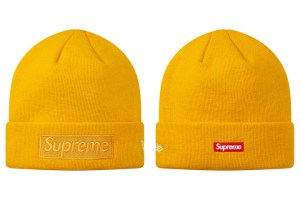 Supreme x New Era Box Logo beanie