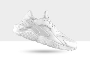 NIKEiD Air Huarache LE 'Pure White'