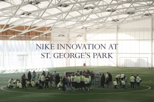 2 days of Nike innovation at St. George's Park