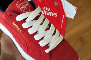 Are PUMA releasing an 'Arsenal' Suede?