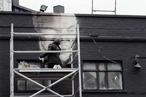 Video: The Outside Collective paints a giant Diplo mural in London for K-Swiss
