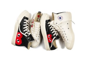 COMME des GARÇONS PLAY x Converse Chuck Taylor All Star '70 collection