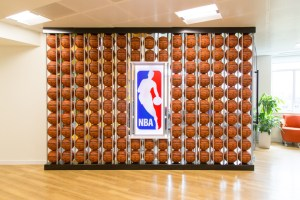 Take a look inside the amazing NBA Europe head quarters in London