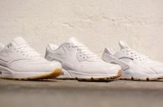 Nike 'White & Gum' pack (Air Max 1, Air Max 90, Air Huarache LE)
