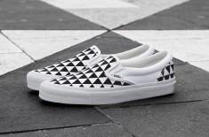 Sneakersnstuff x Vans Vault OG Classic Slip-On LX 'Stockholm'