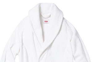 Supreme x Frette bathrobe