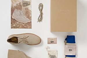 Clarks Originals Desert Boot 'Made In England' 65th anniversary edition