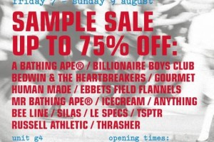 a number of names* sample sale