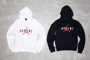 Jordan x Supreme clothing collection