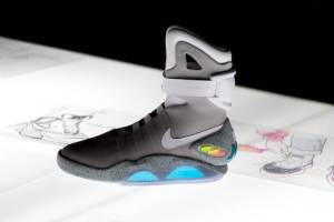 Power Lacing Nike MAG sighted in New York City