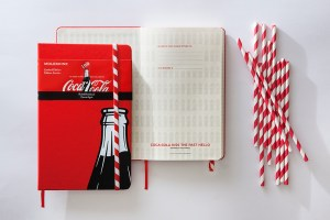 The perfect notebooks for Coca-Cola fanatics