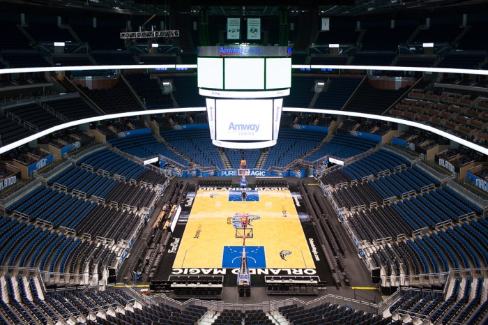 Take a look around the Orlando Magic Amway Center