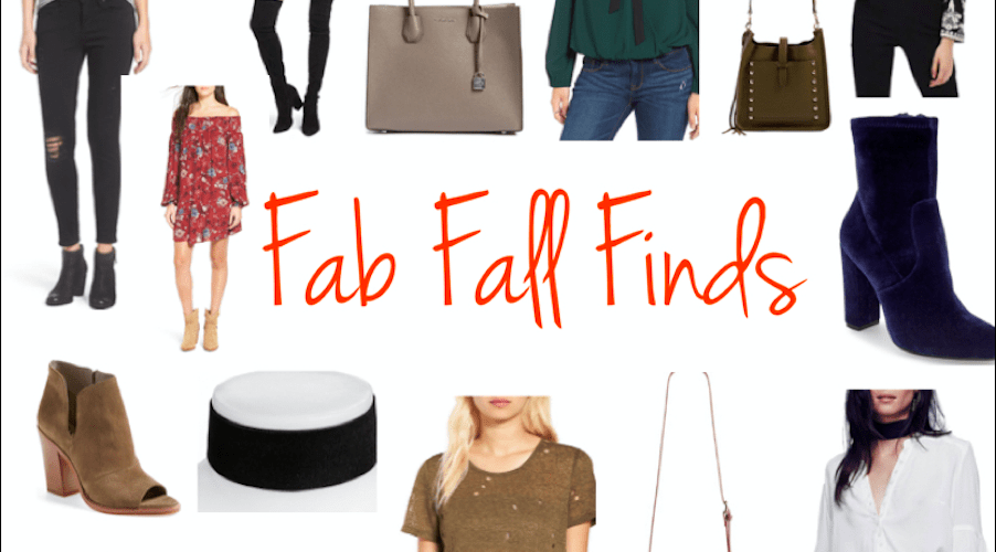 Fab Fall Finds
