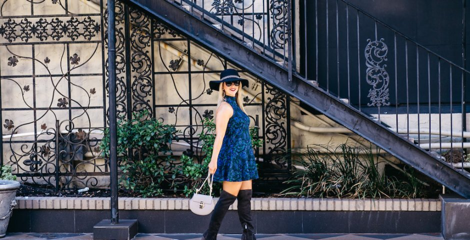 Boho Chic + OTK's   Nicole Kirk