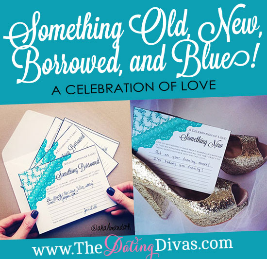 Invitation Wedding Dress Code Something Old, New, Borrowed, And Blue!