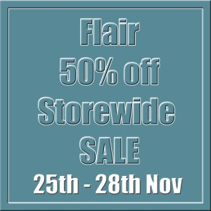 Flair 50% Off Storewide SALE