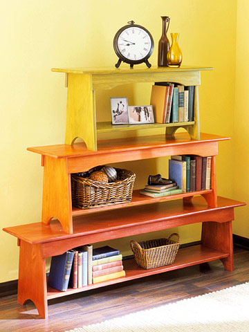 Better Homes and Garden Bench Bookcase Rethinking Bookcases