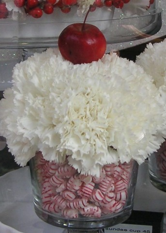Christmas Candy Carnations by Sandra Olando Decorating with Candy