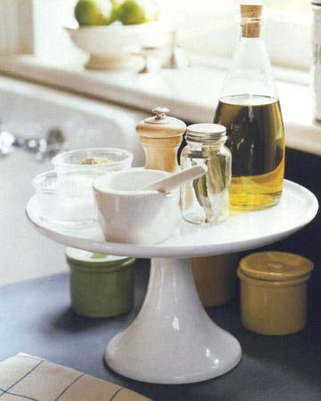 cake stand kitchen organizer Edit and Declutter Your Kitchen