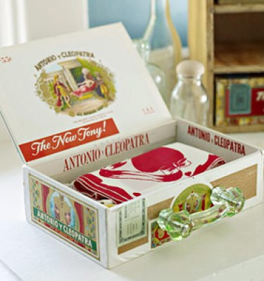 cigar recipe box by bhg Stylish Storage