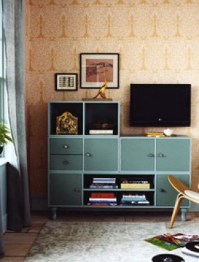 cube media cabinet by martha stewart Organizing with Shelves and Bookcases