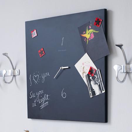 blackboard clock by grahamandgreen Handmade Clocks