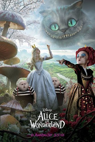 AliceInWonderland wildaboutmovies Tim Burtons Alice in Wonderland