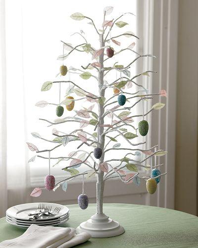 easter tree via theinspiredroom net Easter Egg Trees