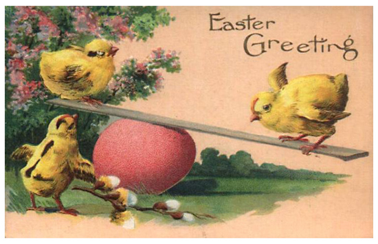 e 12 Vintage Easter Downloads