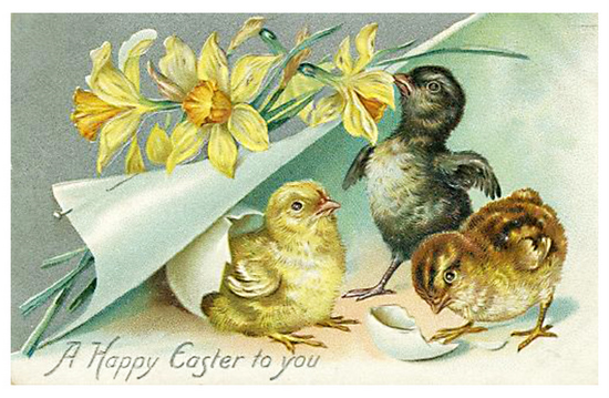 e 68 Vintage Easter Downloads